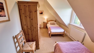 Belview Cottage Dorset - twin room